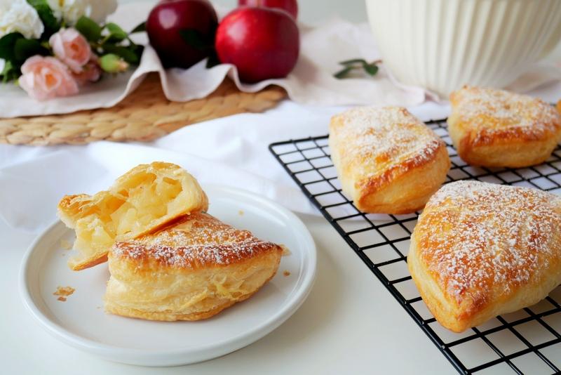 Ciastka z jabłkami - Chausson aux pommes