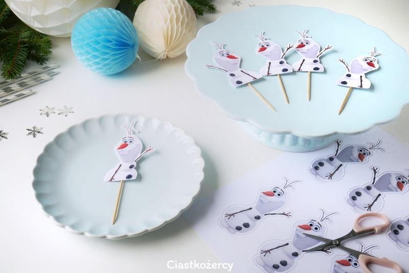 Jak zrobić Babeczki z Olafem